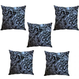 Stybuzz Royal Art Cushion Cover- Set Of 5
