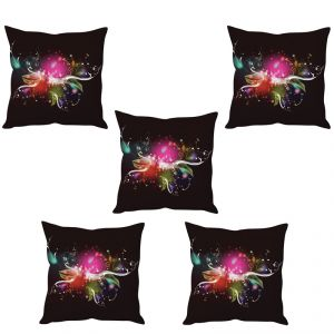 Stybuzz Abstract Art Cushion Cover- Set Of 5