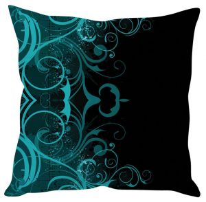 Stybuzz Abstract Art Green Cushion Cover