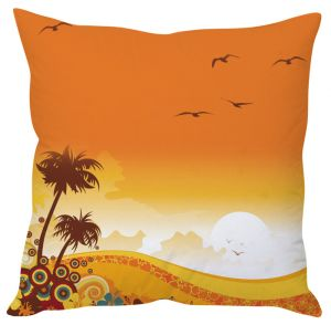 Stybuzz Orange Sunny Day Orange Cushion Cover