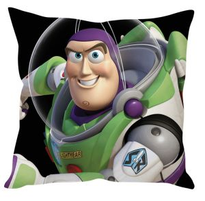 Stybuzz Buzz Toy Story Green Cushion Cover