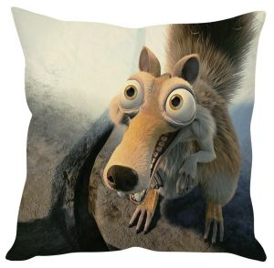 Stybuzz Ice Age Beige Cushion Cover