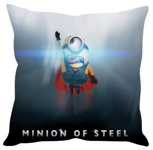 Stybuzz Minions Of Steel Blue Cushion Cover