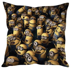 Stybuzz Minions Yellow Cushion Cover