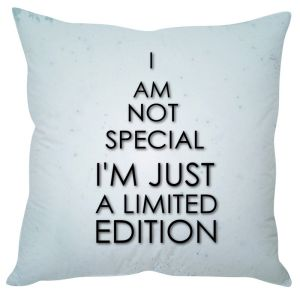 Stybuzz Limited Edition Blue Cushion Cover