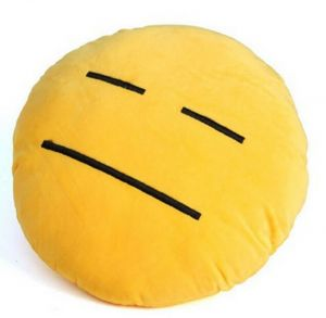 Stybuzz Helpless Emoji Cushion