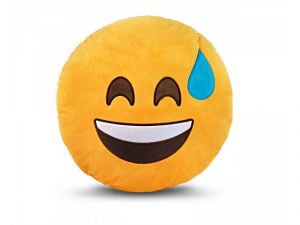 Stybuzz Laughing Emoji Cushion