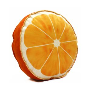 Stybuzz Orange Fruit Slice Cushion