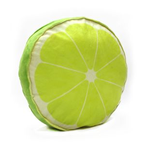 Stybuzz Lime Fruit Slice Cushion