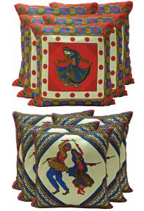 Stybuzz Ethenic Cotton Cushion Cover Set Of 10 - Scten00044