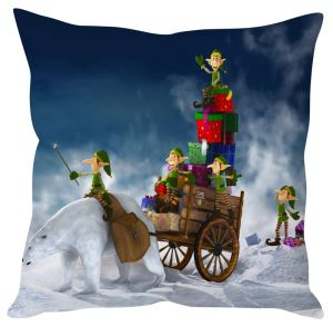 Stybuzz Christmas Gift Thieves Goblin Cushion Cover