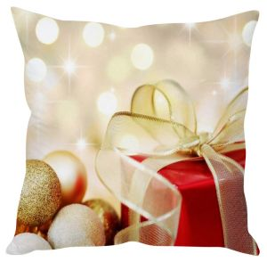 Stybuzz Christmas Gifts Cream Cushion Cover