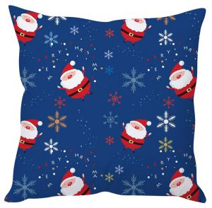 Stybuzz Cute Santa Print Cushion Cover