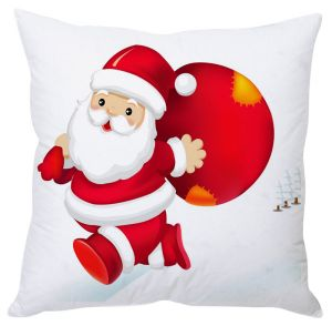 Stybuzz Cute Santa Claus Anime Cushion Cover
