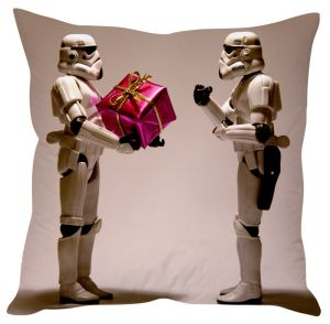 Stybuzz Tech Age Christmas Gift Cushion Cover