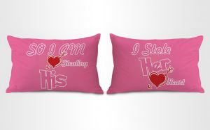 Stybuzz I Stole Her Heart Couple Pillow Covers