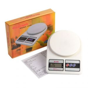 Kitchen weighing scale - Electronic Portable Digital Kitchen / Weighing Scale Upto 7kg - Sf 400