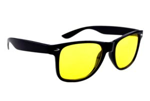 Abqa Bat HD Vision Anti Glare Biking/night Driving Wayfarer