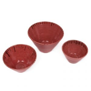 Fabulloso Conical Bowl Set