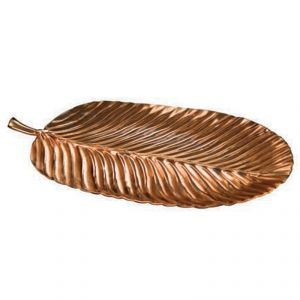 Fabulloso Copper Banana Leaf Plate