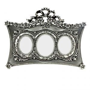 Fabulloso Bow Triple Photo Frame