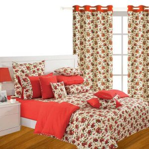 Double Bed Sheets - Fabulloso Spring Fall Of Love Room Makeover Set