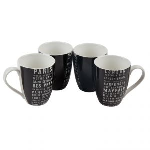 Fabulloso Tram Signs Mug Set