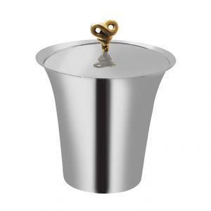 Fabulloso Double Knot Stainless Steel Ice Bucket - Bar Accessories