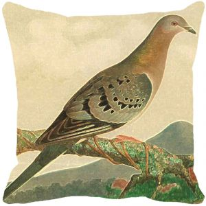 Leaf Designs Fawn Bird Cushion Cover - Code 53863592091