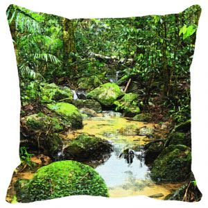 Leaf Designs Nature Cushion Cover - Code 53862602091