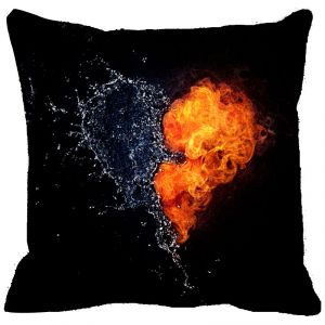 Leaf Designs Explosive Heart Cushion Cover - Code 53864532091