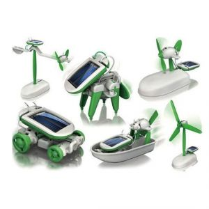 Annie Solar Powered 6 In 1 Robot Kit Diy Educational Toy