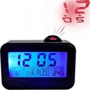 Talking Alarm Digital LED Projector Clock