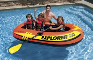 Intex Explorer 300- 3 Personintex Explorer 300- 3 Person Raft Set - French