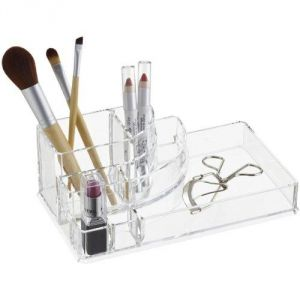 Soulbeauty Acrylic Cosmetic & Makeup Organizer Holder Decoration Acrylic Cosmetic Jewelry