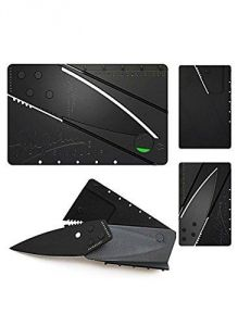Card Sharp Folding Knife. Ultra-thin Credit Card Sized Utility Knife.