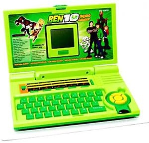 New Ben10 Kids Mini Laptop For Learner English Computer Toy
