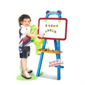 Kids Toy 3 In 1 Learning Easel Board Multicolor