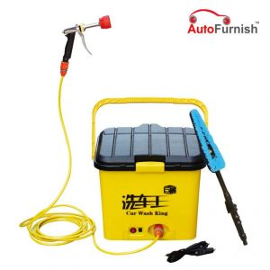 Autofurnish Car Cleaner Portable Automatic Car Washer 12v