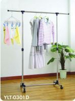 Portable Single Pole Telescopic Clothes Hanger