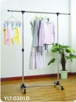 Single Pole Telescopic Clothes Hanger