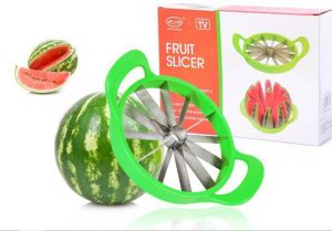Stainless Steel Watermelon Fruit Slicer And Fruit Divider Kitchen Tool