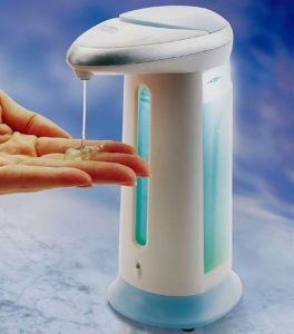 Automatic Hand Soap & Sanitizer Dispenser