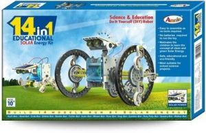 14 In 1 Robotic Solar Energy Kit For Kids