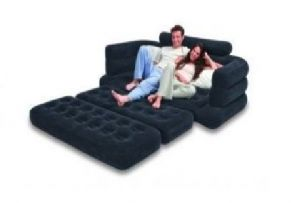 Home Utility Furniture - Intex Inflatable Full Size Pull-out Sofa Cum Bed
