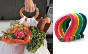 Trip Grip Handle- Carry Multiple Bags Without Hand Strain Locking Holder