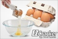 Handheld Egg Cracker / Egg Separator Crack Raw Eggs