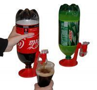 Abelestore Cold Drink Coke Fizz Dispenser Saver Refrigerator Drinking Stand