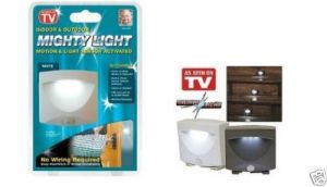 Indoor & Outdoor Light Mighty Light Motion & Light Sensor Activated