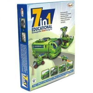 Bgm 7 In 1 Educational Rechargeable Solar Energy Kit